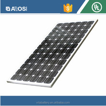 AROSI tempered glass 280w mono pump water cooled solar panels