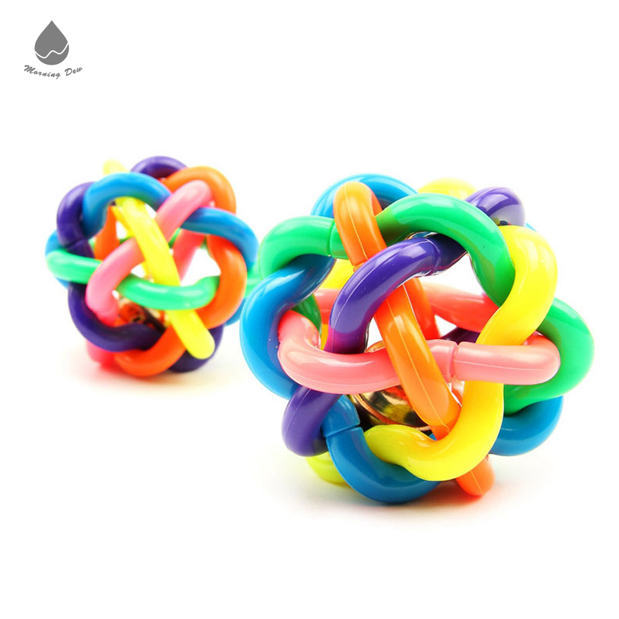 China Factory Wholesale Colorful Soft Rubber Material Vocal Pet Dog Toys Ball