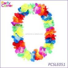 Luau Hawaiian Hawaii Beach Pool Party Favour Rainbow Flower Neck Leis