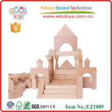 Master Builder Set Kids Fancy Toys Wooden Building Blocks