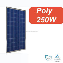 A grade full power solar system using 250 watt photovoltaic solar panel