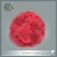 GTR321 wholesale regenerated pes fiber red color with low price