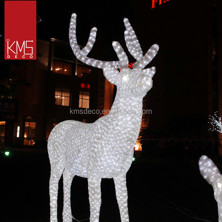 list manufacturers of large outdoor christmas reindeer for large outdoor reindeer christmas decorations