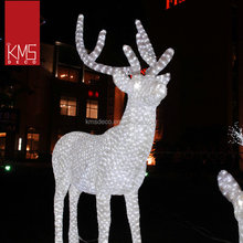 New fashion cheap large christmas reindeer lights outdoor for hotel decoration