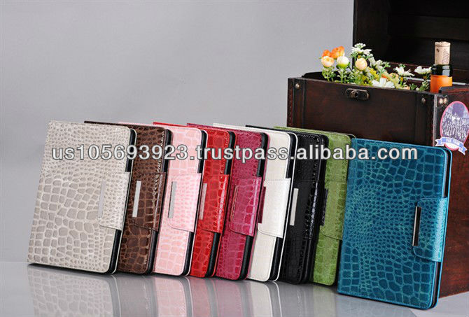 Matte PU leather smart cover case for Mini Ipad