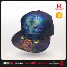 Topshow Custom Film Character Polyester Snapback Multi-color Custom 5 Panel Hats