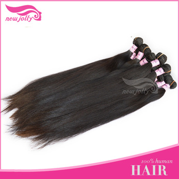 100% natural color hair peruvian straight hair weaving highly welcomed reasonable price