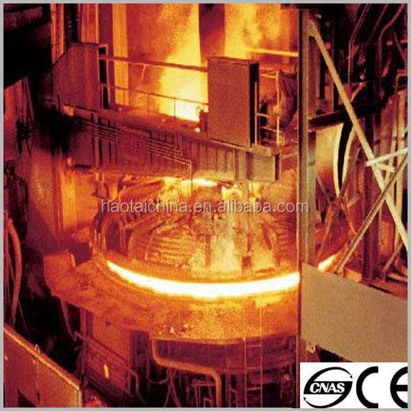 EBT tap electric arc furnace for for steel melting