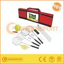 Volleyball & Badminton 2 Game Set with Carry Case