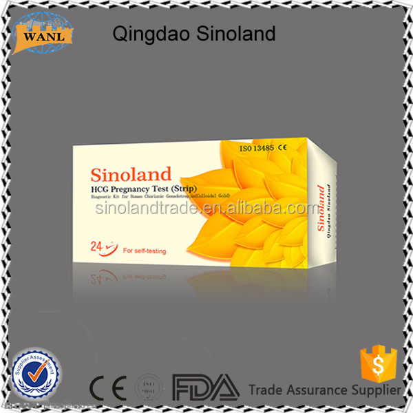HCG pregnancy test strip with high accuracy