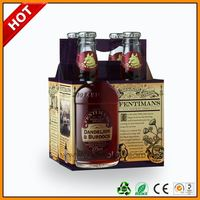 6 pack beer box ,6 bottle cardboard wine box ,6 beer corrugated packing with handle