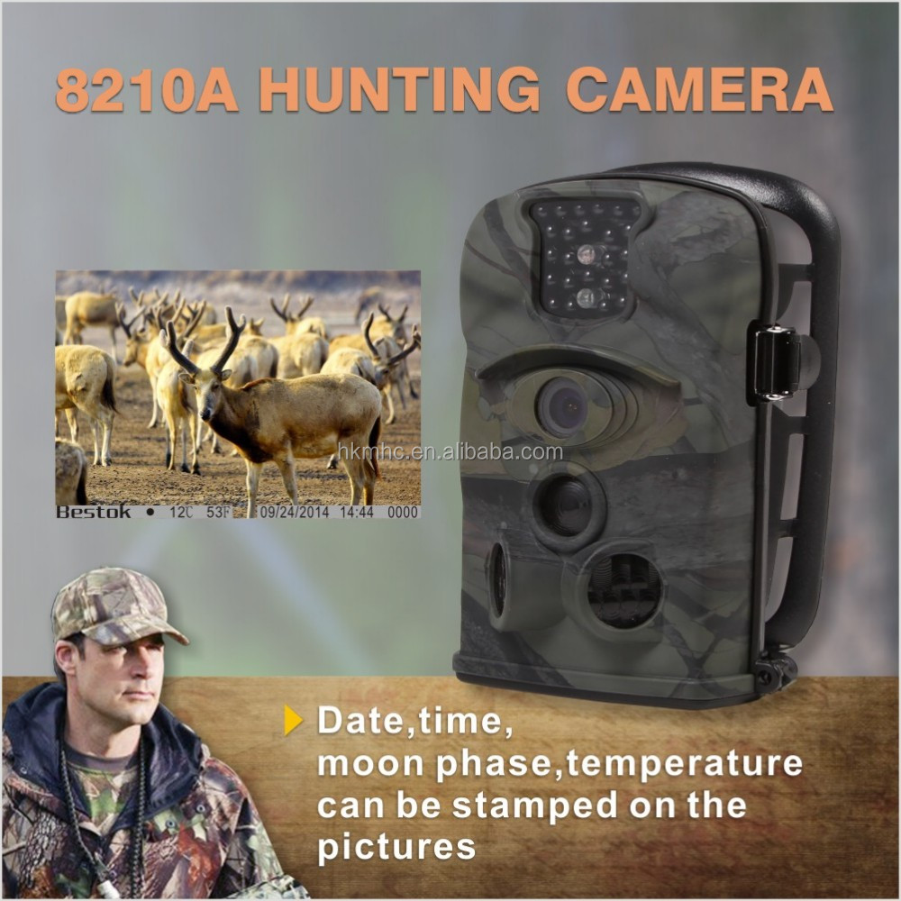outdoor waterproof Wireless wifi Trail Scouting Hunting Tracking animal digital Camera
