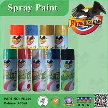 PE 450ML Aerosol Environmental Non Toxic Spray Paint