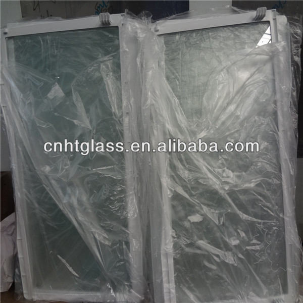 tempered injection glass shelf with plastic for refrigerator with CCC&ISO&ROHS