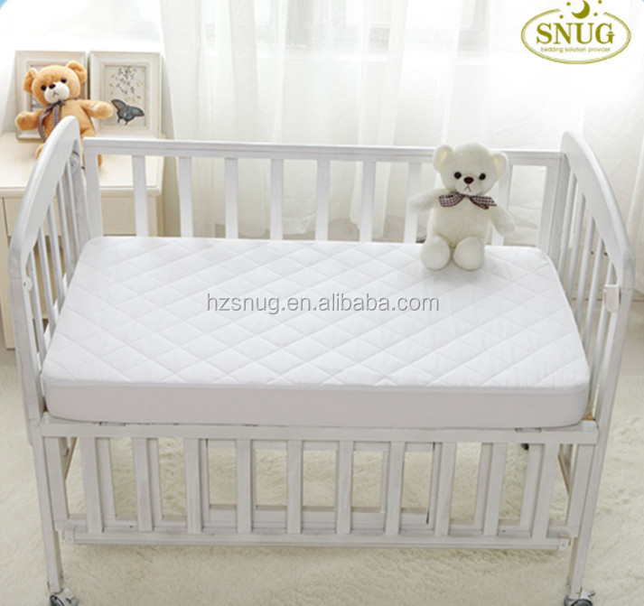 Amazon Baby Crib Microfiber Quilted Waterproof Mattress Protector SGM-11 - Jozy Mattress | Jozy.net