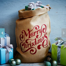 chrismas jute canvas santa sack factory
