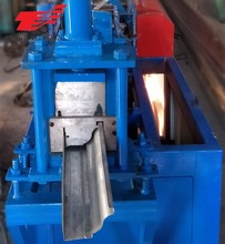 Passed CE and IOS Aluminium Rain Gutter Down Pipe Roll Forming Machine