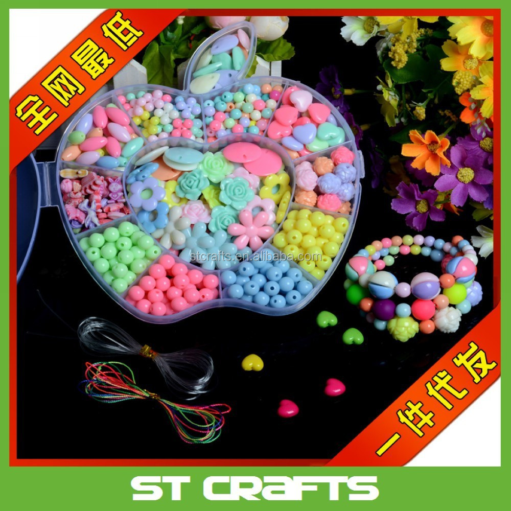 New toys children funny puzzle hot selling non-toxic eco-friendly plastic mini DIY perler beads