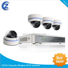 Wireless HD IP Cameras + Full 1080P NVR hidden cctv camera