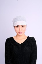 2016 china new product factory direct sale disposable nonwoven peaked snood cap