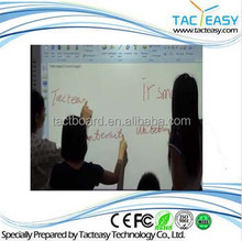 Smart board hot sale finger touch portable whtieboard with infrared technology