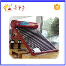 100 150 200 Liters Evacuated Tube Low Pressure Solar Hot Water Heater Price In India