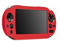 Protective Rubber Gel Sleeve Soft Silicone Skin Shell Case Cover Compatible With Vita 2000 Controller,
