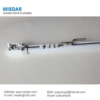 Motorized Curtain Rail, motorized curtain rod, remote curtain track