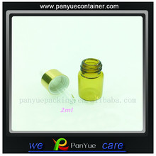 2ml specialty discount essential oil amber glass bottles for sale