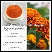 high quality Lutein, Marigold Extract (1%~80% Lutein),pure lutein,natural pigment