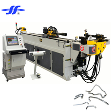 CNC power hydraulic pipe/tube bending machine, high speed square pipe bender