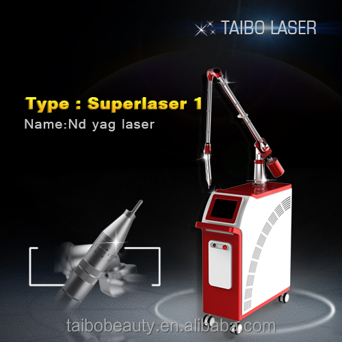 q switched laser remove tattoo pigments / professional tattoo removal machine / laser skin lightening