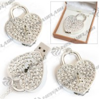 Promotional gift cheap usb flash drive heart shape