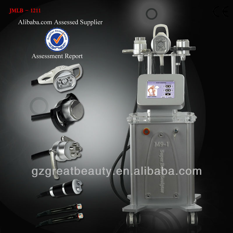 Hot selling for body slimming ultrasonic liposuction cavitation equipment