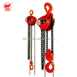 2000kg HSZ-KT /VitalType Chain Block And Tackle,Manual Chain Pulley Block, Hand Chain Hoist lifting machines