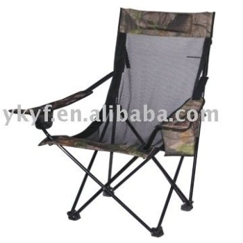 New design of camping Chair with a coller bag