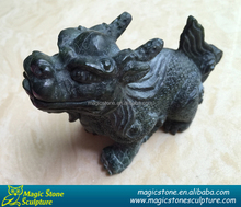 new design stone dragon figurine for indoor decoration