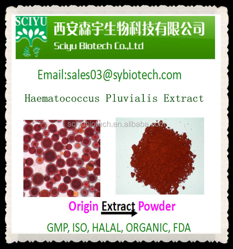 Factory supply natural high quality haematococcus pluvialis extract astaxanthin powder 1-10%