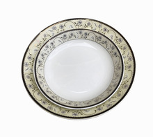 6''-9'' porcelain decorating firing dinner set service round plates ceramic dishes candy tray hotel salad plates set