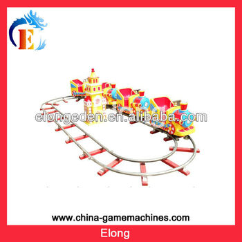 Hot! Attraction for children amusement playground train rides theme park equipment, kids ride swinging chair