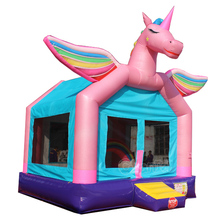 unicorn bouncy castle inflatable air bouncer for toddlers