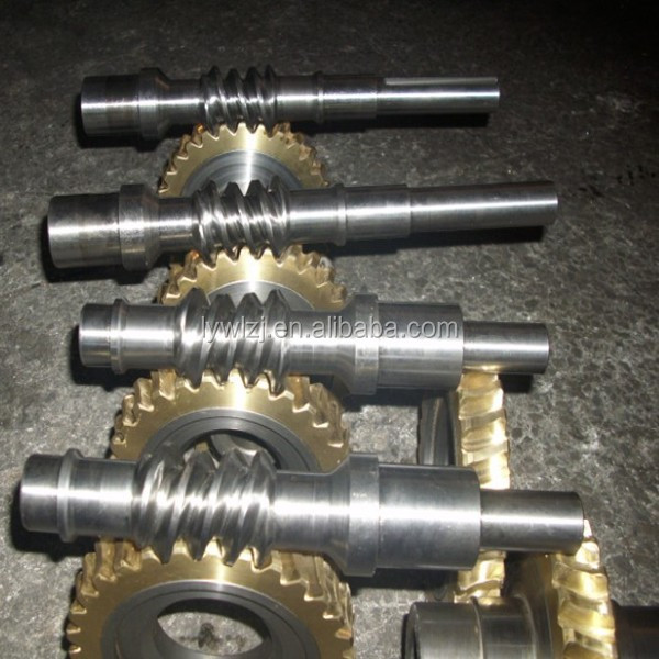 Customized High Precision Worm And Shaft For Gearbox