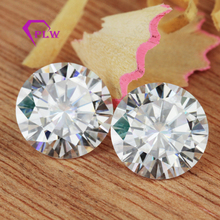 Buying 3mm to 10mm white color hearts and arrows cut moissanite gems to customzie Moissanite jewelry