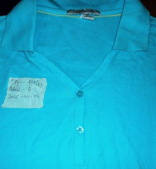 BRANDED LADIES PK POLO