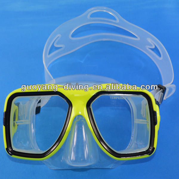 swimming goggles strap silicone/military diving equipment/scuba
