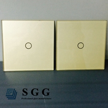 2mm 3mm 4mm 5mm 6mm Tempered socket switch glass outlet plate