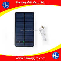 ew Solar Power Bank power bank 10000mah external battery solar charger powerbank for all mobile phone