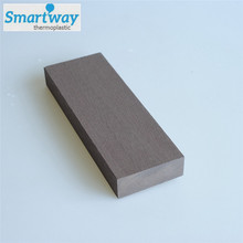 Outdoor solid floor cover smooth surface composite decking