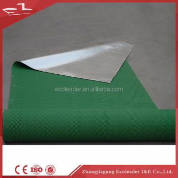 Sound Insulation Shockproof Rubber Backing Commercial Carpet