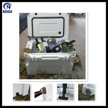 25L reused rotational mold ice cooler box to store beverage and beer